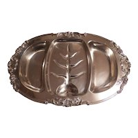 Large Reed & Barton Francis 1st Sterling Silver Hand Chased Tray 572A