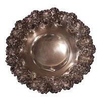 S. Kirk & Son, Co Sterling Silver Ornate Floral Bowl