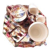 Vintage Royal Winton Chintz Breakfast Set Six Piece