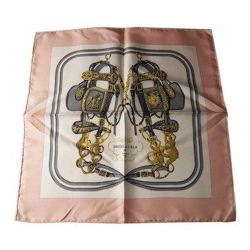 "Hermes silk scarf Brides de Gala 16"" unworn"