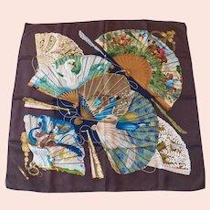 Hermes silk scarf Brise de Charme with box