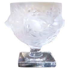 "LALIQUE (France) - Exquisite Clear and Frosted  ""Elizabeth""  Vase - Exquisite As Only Lalique Can Be!"