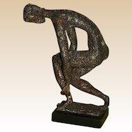 """GERTRUDIS GALI  (1912 - 1988)  Original Signed Bronze  """"Arethuse"""""""