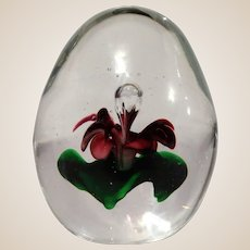 Heirloom Collection Dynasty Gallery Art Glass Paperweight