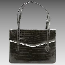 """Vintage French Leather Purse - Marked """"Made in France, Expressly for Bloomingdales"""" on the Interior."""