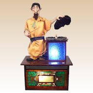 "Very Large Automaton Magician, Makes a Bird Disappear!  Lots of Movements -  ""Versalles"""