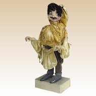 Vintage Automaton Gypsy - Works Well But Costume Shows Age And Use