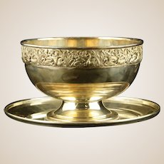 Sterling Silver Underplate And Silver-Plated Bowl