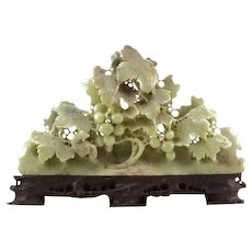 Well-Carved Chinese Soapstone Sculpture - Red Tag Sale Item
