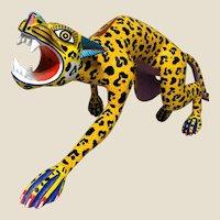 "JACINTO MANDARIN (Mexican, 20th Century) - Original Signed Sculpture ""Jaguar""  Large and Impressive!"