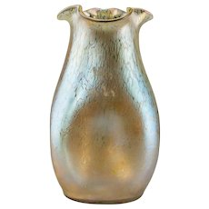 LOETZ Rare and Exquisite Iridescent and Mottled Vase, circa 1900