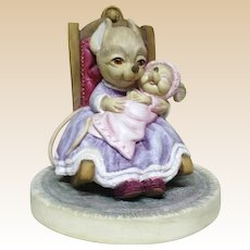 """Connoisseur Very Rare Closed Signed Limited Edition - """"Lullaby"""" - Number 7 of an Edition of 100 - From England, c 1990"""