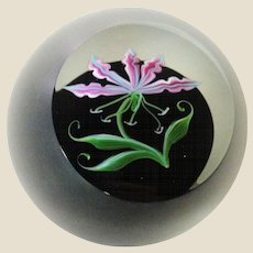 Correia Art Glass Signed/Dated Limited Edition Paperweight  c. 1983, Rare and Exquisite!