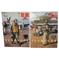 "GI JOE Classic Collection - ""Tuskegee Bomber Pilot"" and ""Tuskegee Fighter Pilot"" In Original Boxes, Mint In Boxes - - Red Tag Sale Item"
