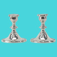 GORHAM Sterling Silver Weighted Candlesticks