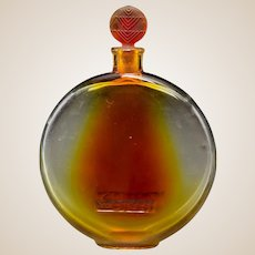 R. LALIQUE Sans Adieu Lotion Bottle With Amber Tint
