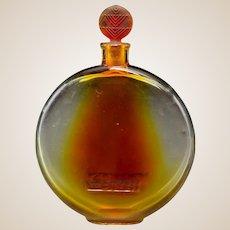 R. LALIQUE Sans Adieu Lotion Bottle With Amber Tint