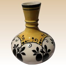 BOCH FRERE by Charles Catteau Enameled Vase