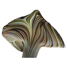 Jack-In-The-Pulpit Art Glass Vase - Exquisite!