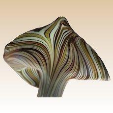Jack-In-The-Pulpit Art Glass Vase - Exquisite!