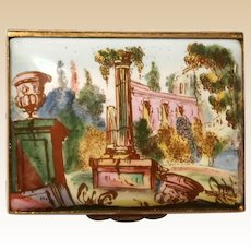 HALCYON DAYS Enamel Trinket Box/Dresser Box From England -  Elegant and Beautiful