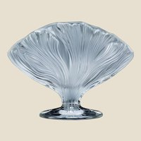 LALIQUE (France) - Rare and Beautiful ICHOR Vase, Clear and Frosted, In Original Lalique Box