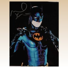 "MICHAEL KEATON ""Batman"" - Hand-Signed Photo With Certificate of Authenticity"