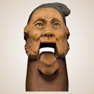 Wonderfully Carved Black Forest Bavarian Nutcracker, Circa 1890