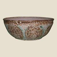 Signed Lazlo Steiner Bowl  With Fascinating Design
