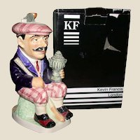 """From England: Kevin Francis' Limited Edition  """"The Golfer"""" by Andy Moss, Limited Edition"""