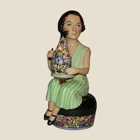 """Closed Limited Edition - Kevin Francis """"Charlotte Rhead"""" modeled by sculptor Douglas V. Tootle, c. 1991"""