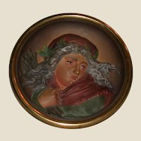 Bradley & Hubbard - Antique Cast Iron Wall Plaque or Calling Card Tray - Late 19th Century. Art Nouveau