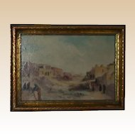 Original Oil -Impressionist Southwestern Landscape