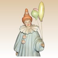 "Burgues - Limited Edition Clown - ""Pierrot"" - Signed and Numbered"
