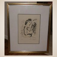 "Marc Chagall - ""Before The Picture"" - Signed and Numbered"