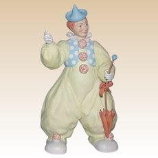 """Closed Limited Edition, Signed and Numbered - """"Joey"""" The Clown, from Burgues"""
