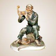 """Borsato - """"Wayfarer's Feast"""" -  Another Excellent Genre Porcelain Sculpture"""