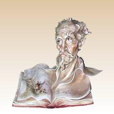 "Borsato - ""Don Quixote"" - Wonderful Porcelain Sculpture -Great Detail - Great Humor!"