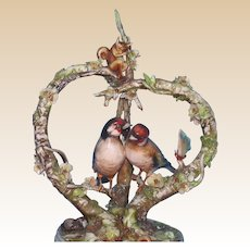 """Borsato Exquisite Multi-Figural Group """"Love's Old Sweet Song"""""""