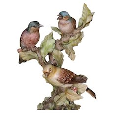 "BORSATO - ""Out On A Limb"" - Multi Figural Porcelain Sculpture by the Master! - Red Tag Sale Item"