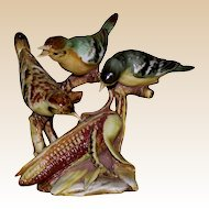 "Borsato - Multi-Figural Porcelain Sculpture ""Two Courses"" With Humor And Beauty!"