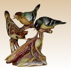 """Borsato - Multi-Figural Porcelain Sculpture """"Two Courses"""" With Humor And Beauty!"""