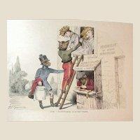 Grandville (Jean Ignace Isidore Gérard) (1803 - 1847) - Les Métamorphoses du jour (1828–29) Plate LVII