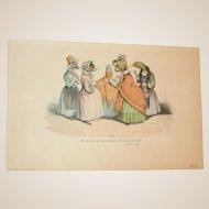 Grandville (Jean Ignace Isidore Gérard) (1803 - 1847) - Les Métamorphoses du jour (1828–29) Plate LXIX