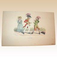 Grandville (Jean Ignace Isidore Gérard) (1803 - 1847) - Les Métamorphoses du jour (1828–29) Plate LL
