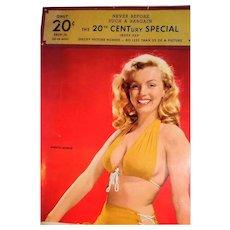 MARILYN MONROE - Rare Salesman's Sample Calendar, Circa 1956