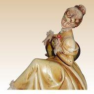 BORSATO - Woman With Flower - Exquisite!