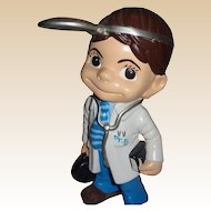 """Doctor"" Sculpture - Absolutely Adorable - Signed,  c. 1976"