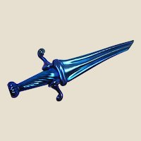 Chris Buzzini - One Of One - Spectacular Art Glass Iridescent Daggar - Orient & Flume