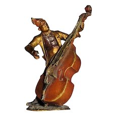 Bergmann Antique Vienna Bronze Double Bass (Cello) Player